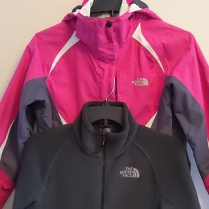 Women's Small 3 in 1 Triclimate North Face Jacket